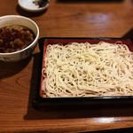 74536719 - ざる(白い蕎麦)