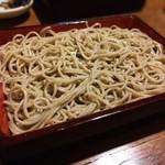 74536722 - もり(黒い蕎麦)