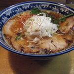 麺創房 玄 - 醤油ラーメン+チャーシュー2枚