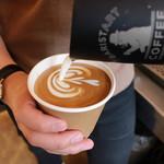 バリスタート コーヒー - BARISTART LATTE(道内契約牧場直送牛乳を選べます)