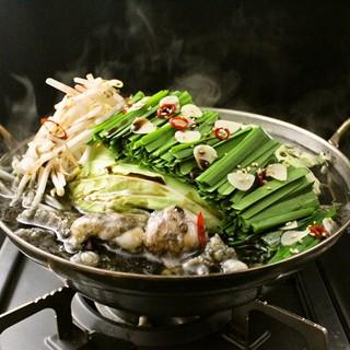 大人気の天神もつ鍋を是非ご賞味ください!