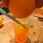 ベトナム屋台酒場 デンロン - 果汁注入!