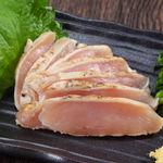 エビス - 薩摩 鶏ムネ肉のタタキ