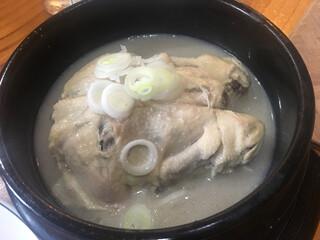 高麗参鶏湯