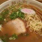 喜多方ラーメン麺小町 - 「喜多方醤油ラーメン」(600円)
