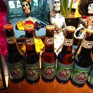 種類豊富なテキーラやメキシコビールもお楽しみいただけます♪