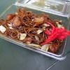 大日茶屋 - 料理写真:ポテト入り焼きそばは注文後作りたてで380円