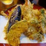 天三 - A天ぷら定食 1200円