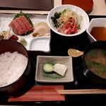 料理茶屋 乃可勢 - 刺身膳