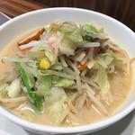 リンガーハット - 野菜たっぷり食べるスープ(680円)