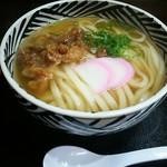 けんちゃんうどん - かしわうどん(麺 2倍) ¥610