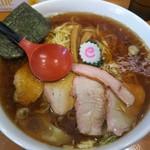 とら食堂 松戸分店 - ワンタン麺大盛980円