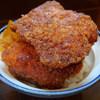 らーめん紬麦 - 料理写真:わらじかつ丼(870円)