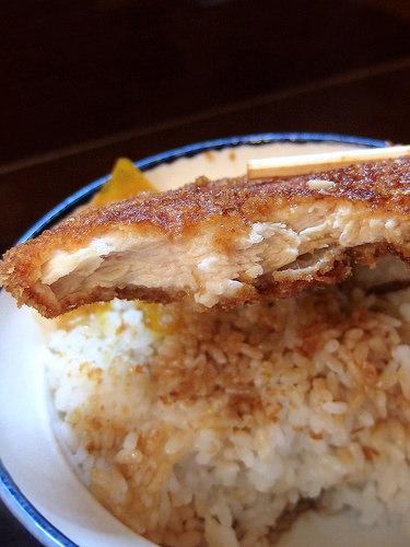 らーめん紬麦 - わらじかつ丼(870円)