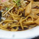 肉そば総本山神保町けいすけ - 麺とスープ