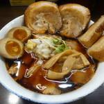 肉そば総本山神保町けいすけ - 肉蕎麦スペシャル・醤油