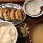 74556243 - 焼餃子定食                       840円