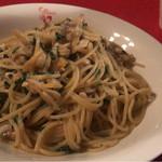 74558120 - アサリと大葉のスパゲッティ