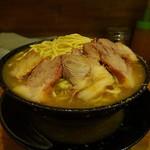 ラーメン 盛太郎 - チャーシュー麺(大盛、野菜抜き)