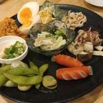 福島壱麺 - あての盛り合わせ
