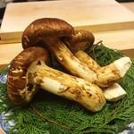 麻布十番 ふくだ - 中国雲南省の松茸