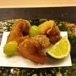 麻布十番 ふくだ - 松茸のフライ