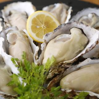 当店は「広島県安芸津産」の牡蠣を使用しております