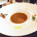 74563185 - レンズ豆のスープ