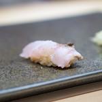 六本木 すし巽 - 神奈川県三崎、本かますの炙り