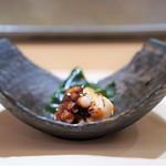 六本木 すし巽 - 明石の蛸の柔らか煮