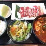 安楽亭 - 料理写真:ファミリーカルビSPランチ(税別750円)
