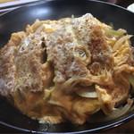 長浜ラーメン呑龍 - カツ丼