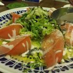 うつぼ - トマトと生ハムサラダ