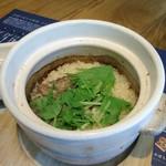 漬け野菜 イソイズム - 鯖と水菜の炊き込みごはん