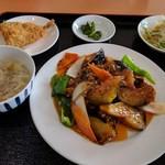 カイシンゲン - 麻婆茄子ランチ600円