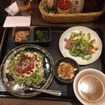 Champuruya - ゴーヤー&タコライスハーフセット、928円