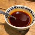 もりやま屋 - 辛味のソース