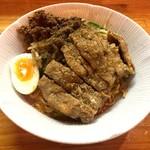 74575043 - 排骨汁なし担々麺(1,050円)
