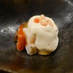梧洋 - 車海老、ナシ、柿の白和え