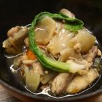 梧洋 - スッポン、根菜の煮込み