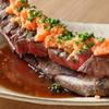 俺の割烹 - 料理写真:黒毛和牛赤身焼き