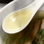 自家製麺 5102 - 鴨塩中華そば スープアップ