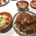 キャリコ - 料理写真:カツカレー(大盛り)