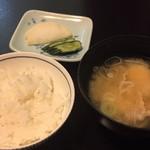 松川温泉 峡雲荘 - 食事
