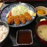 おかん - カキフライ定食 980円