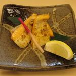 つきじ喜代村 すしざんまい - 鮭ハラス焼き