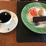 カフェ&バル 庄九郎 - 珈琲とオリジナルスイーツセット