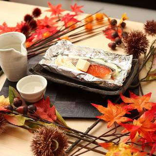 旬の食材を使った逸品×静岡の地酒