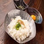 雑炊セット(ご飯・薬味)