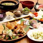 ろばた焼きと旬魚、土鍋ご飯 もへじ -